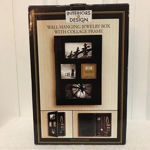 interiors by design Wall Art - Wall hanging jewelry box w/collage frame